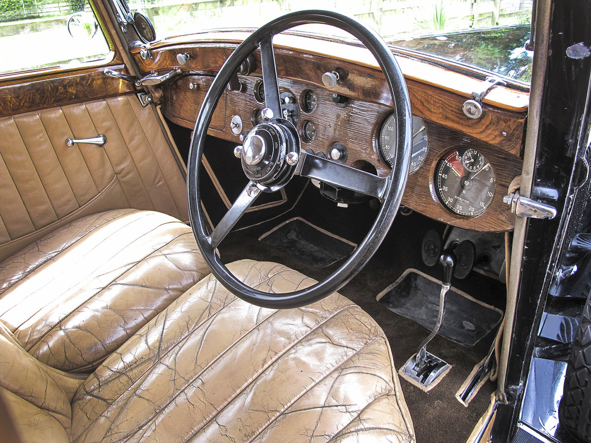 1936 Bentley 4¼ Litre Saloon by Park Ward For Sale (picture 5 of 6)