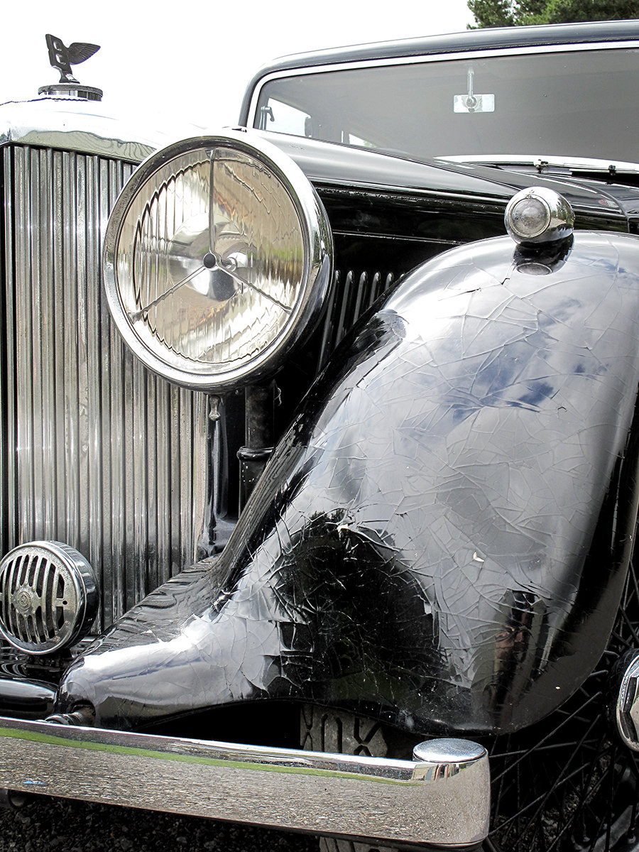 1936 Bentley 4¼ Litre Saloon by Park Ward For Sale (picture 6 of 6)