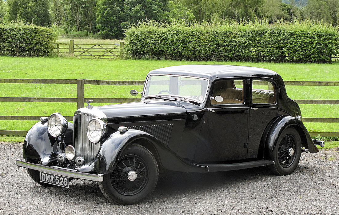 1936 Bentley 4¼ Litre Saloon by Park Ward For Sale (picture 1 of 6)