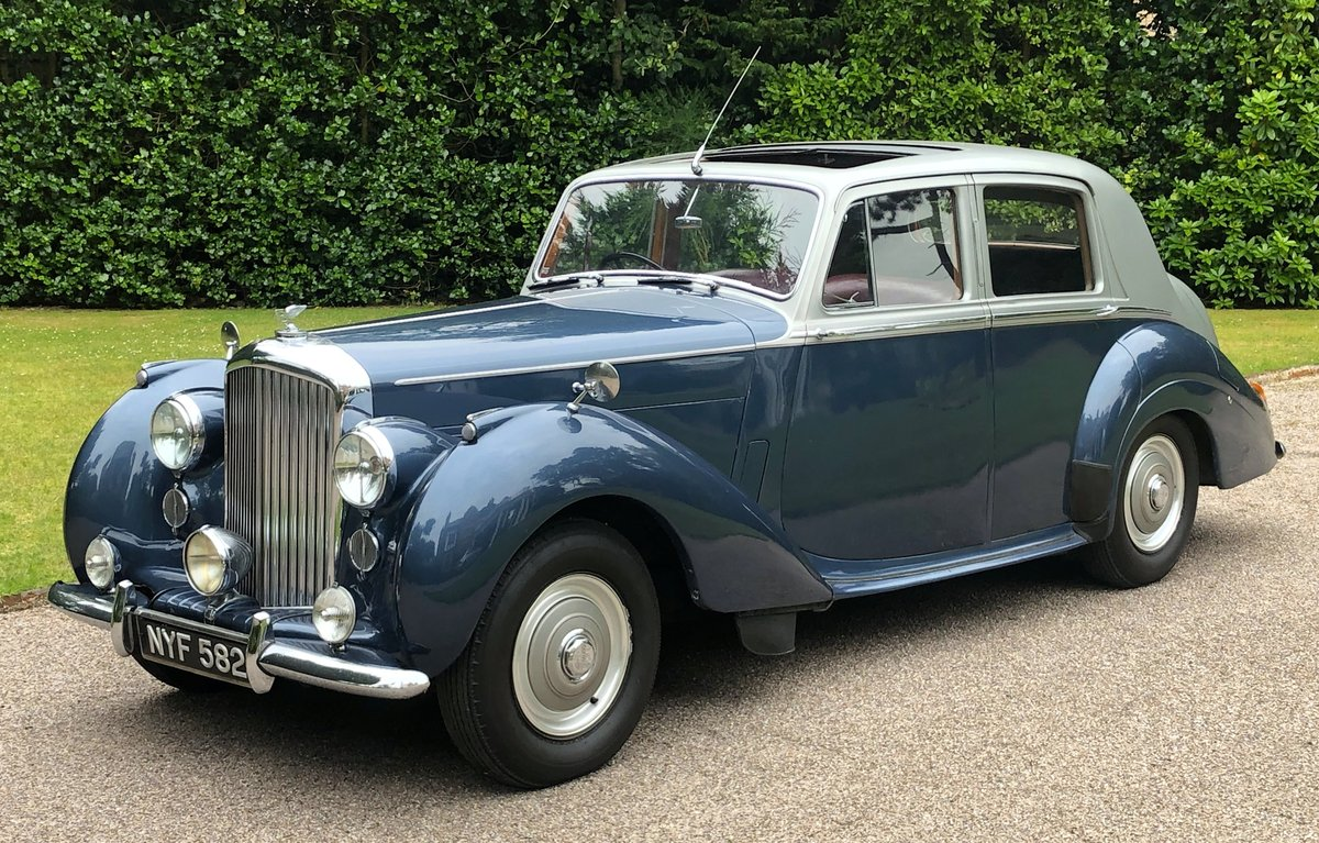 1953 BENTLEY R TYPE MANUAL For Sale (picture 1 of 6)