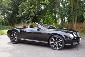2008 2009 Model/58 Bentley Continental GTC Mulliner in Beluga For Sale