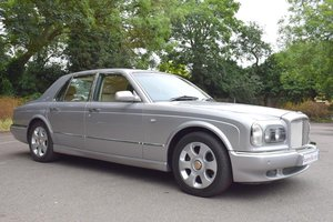 2003/03 Bentley Arnage R in Silver Storm For Sale