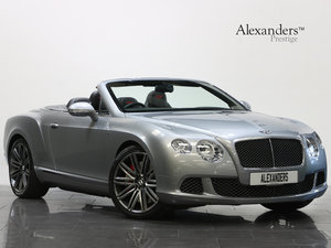 2014 14 BENTLEY CONTINENTAL GTC SPEED 6.0 W12 AUTO For Sale