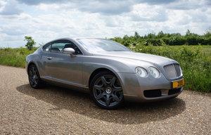 2005 GT Mulliner Pack in Tempest Grey with Beluga Hide SOLD