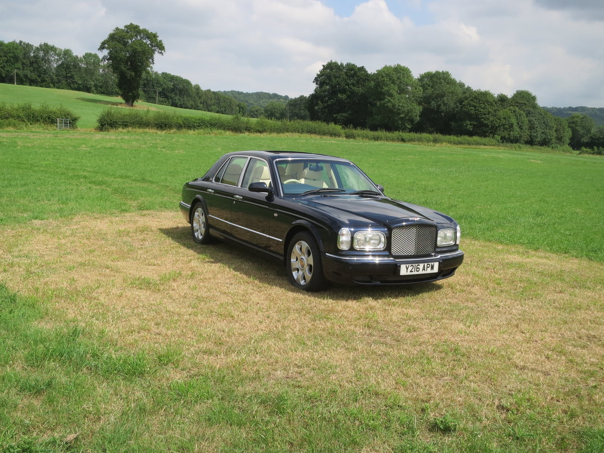 2001 Bentley Arnage Red Label For Sale (picture 1 of 6)