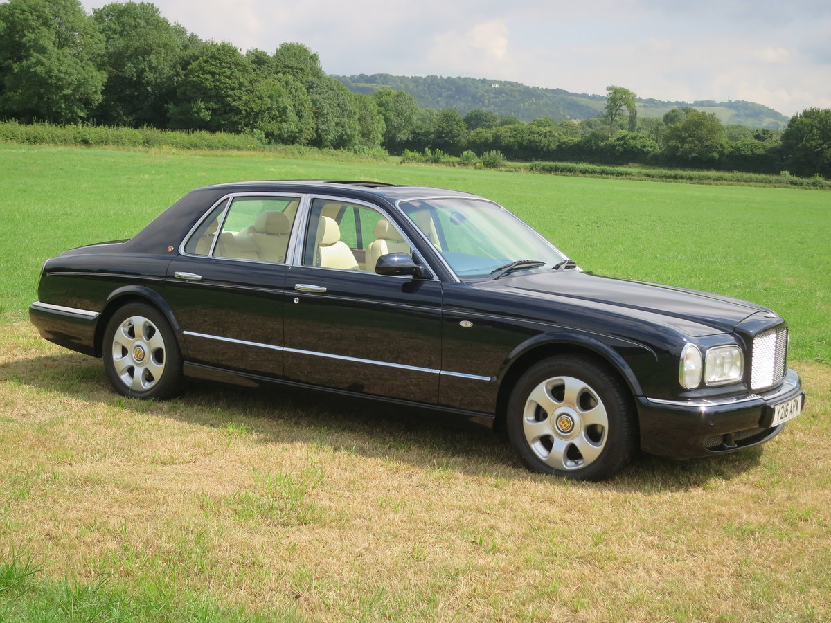 2001 Bentley Arnage Red Label For Sale (picture 2 of 6)