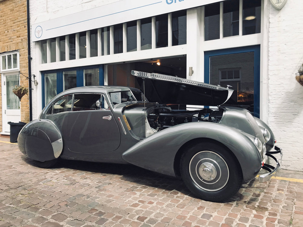 1939 Bentley 4.25MX chassis series with Embiricos style body For Sale (picture 19 of 24)