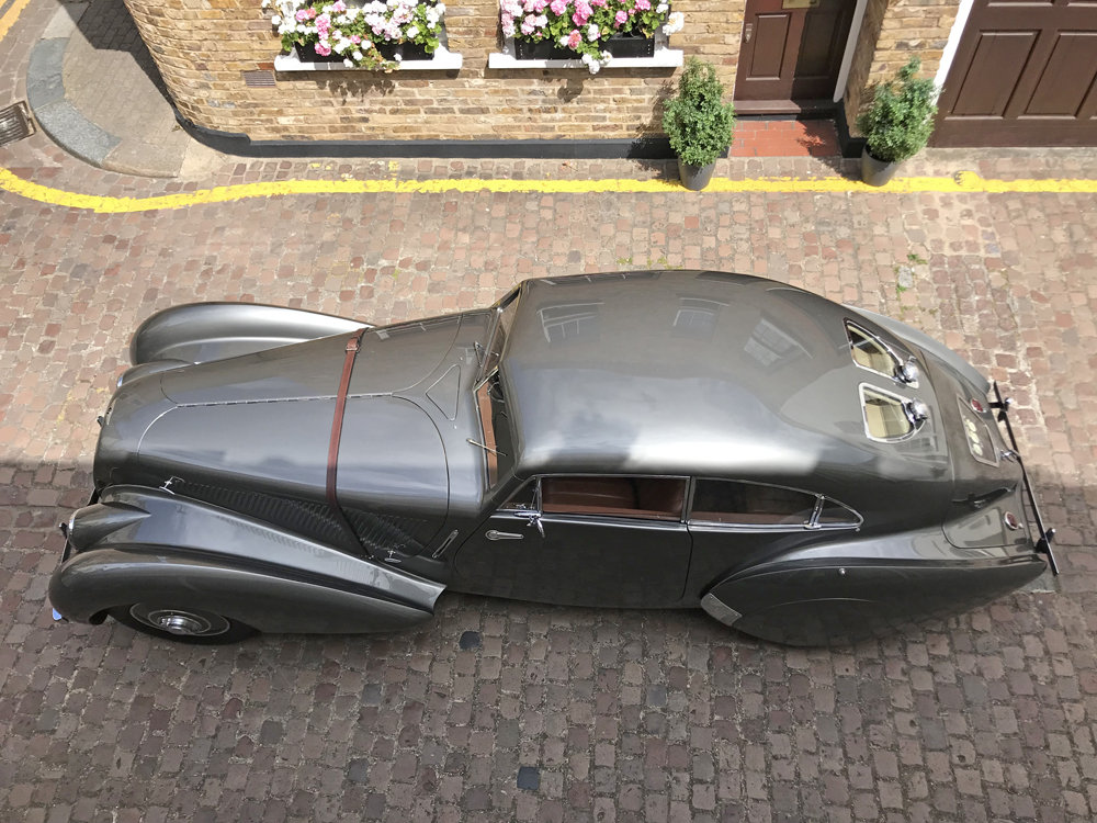 1939 Bentley 4.25MX chassis series with Embiricos style body For Sale (picture 22 of 24)