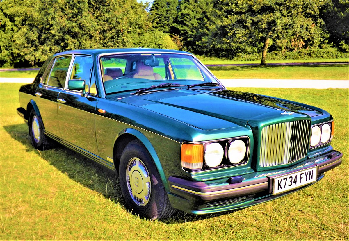 1993 Bentley TURBO R, 74000 miles, For Sale (picture 1 of 6)