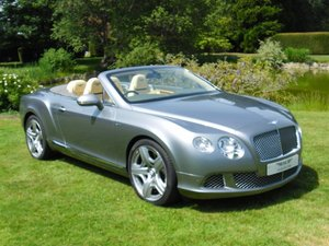 2013 BENTLEY GTC MULLINER