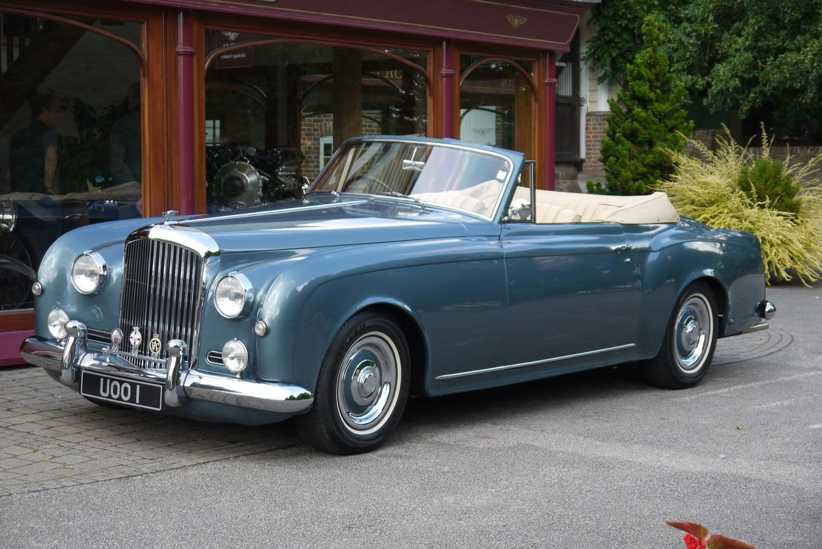 Bentley S1 Continental 1959 Drophead Coupe by Park Ward For Sale (picture 1 of 4)