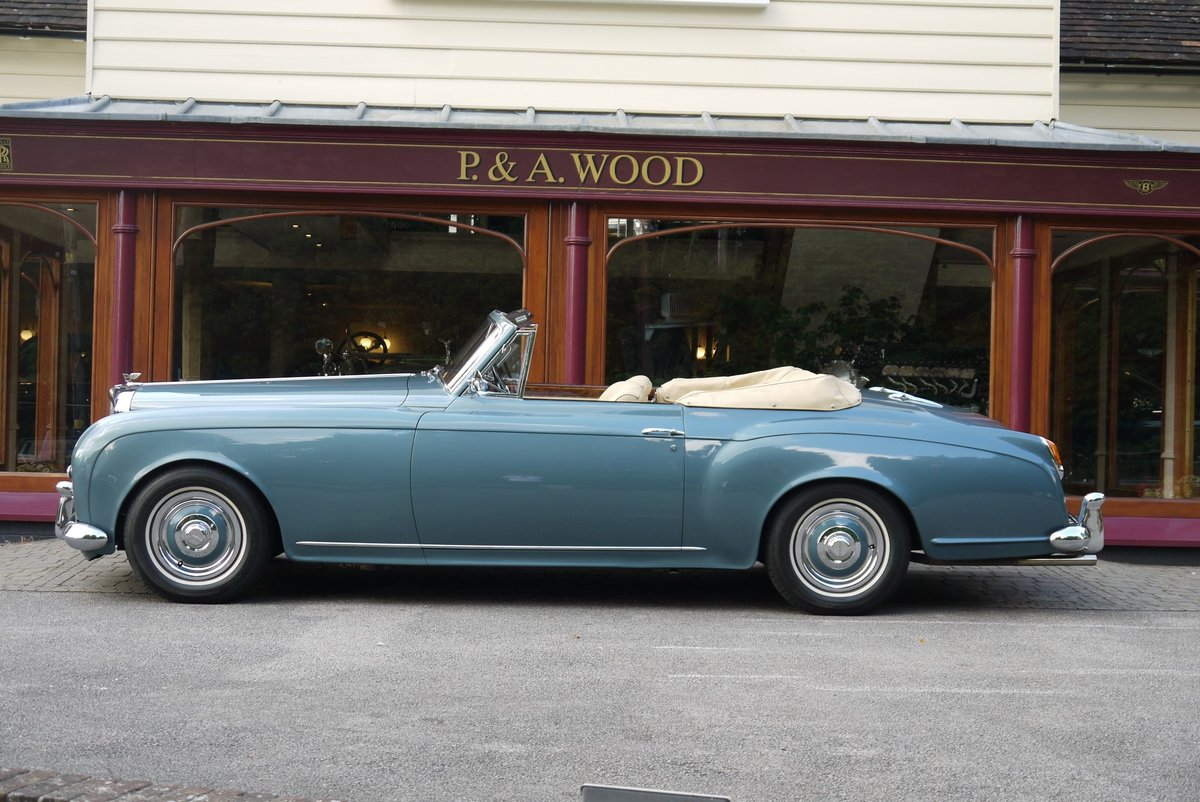 Bentley S1 Continental 1959 Drophead Coupe by Park Ward For Sale (picture 2 of 4)
