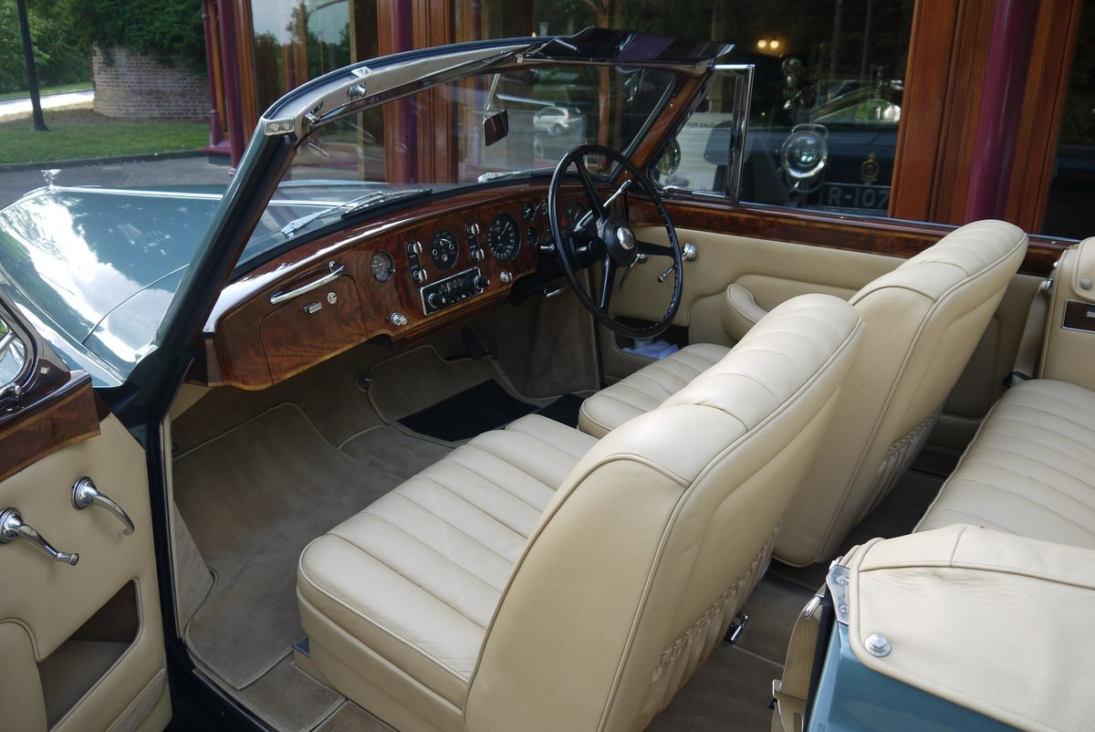 Bentley S1 Continental 1959 Drophead Coupe by Park Ward For Sale (picture 4 of 4)