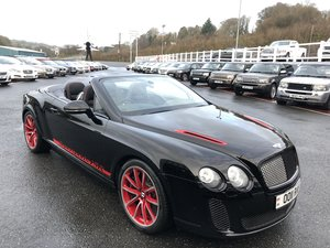 2012 12 BENTLEY CONTINENTAL 6.0 SUPERSPORTS ISR  For Sale
