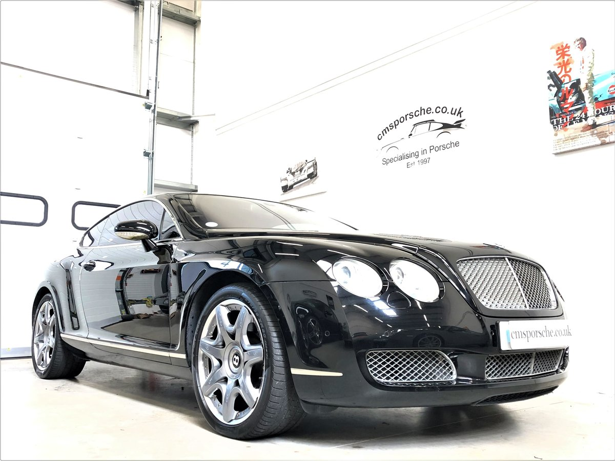 2006 Bentley Continental GT W12 6.0 Mulliner Spec SOLD (picture 1 of 6)