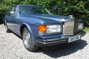 1986 BENTLEY MULSANNE ONLY 72000 MILES 27 SERVICE STAMPS SEE VID