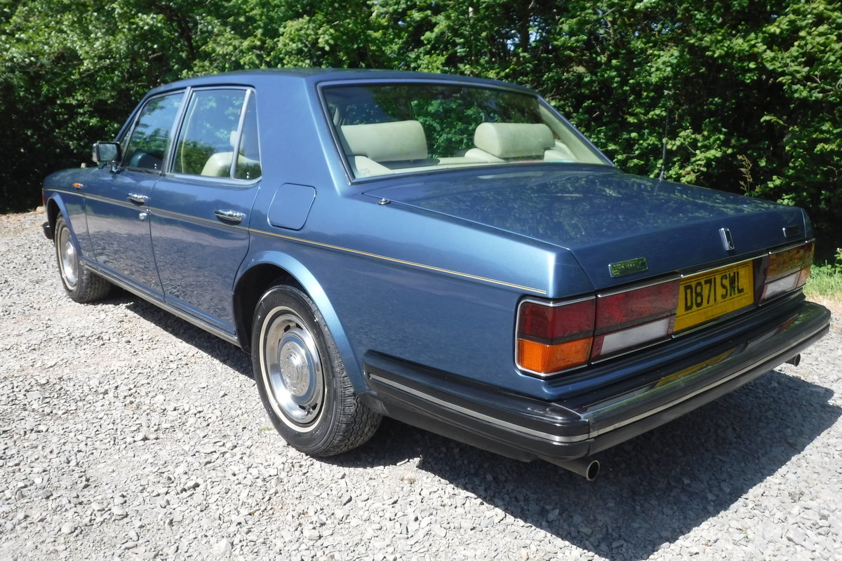 1986 BENTLEY MULSANNE ONLY 72000 MILES 27 SERVICE STAMPS SEE VID SOLD (picture 3 of 6)