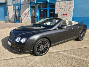 2011 1 OWNER BENTLEY GTC SPEED with FULL JACK BARCLAY SERVICE  For Sale
