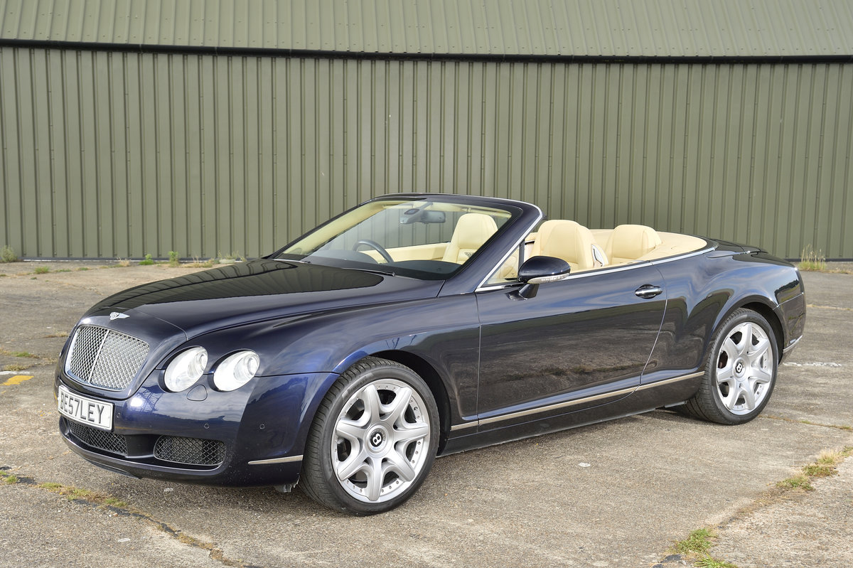 2008 Bentley GT Continental 6.0 (552bhp) 4x4 - Blue Beige For Sale (picture 1 of 6)