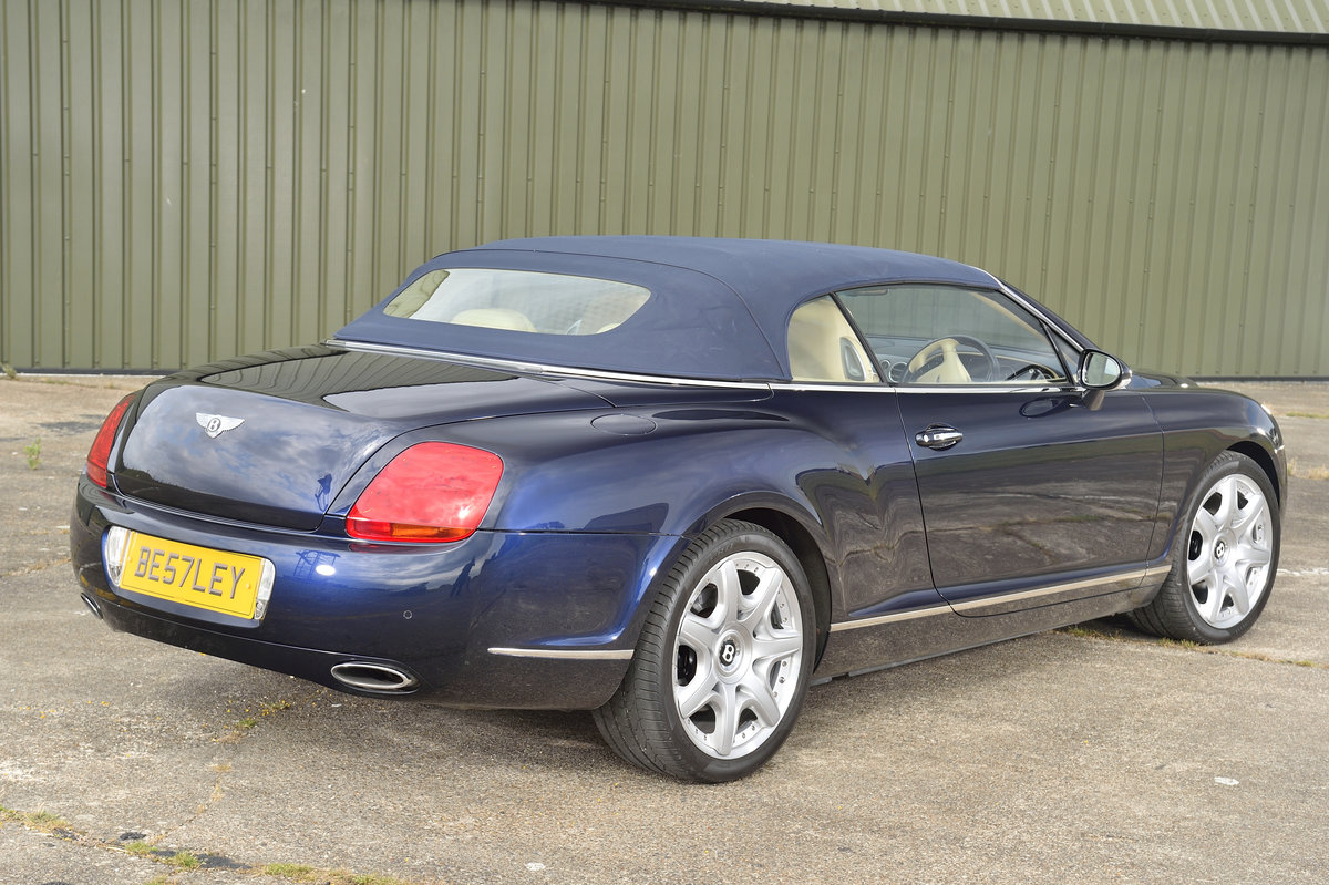 2008 Bentley GT Continental 6.0 (552bhp) 4x4 - Blue Beige For Sale (picture 2 of 6)