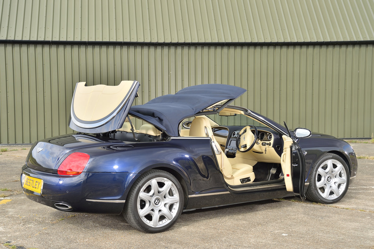 2008 Bentley GT Continental 6.0 (552bhp) 4x4 - Blue Beige For Sale (picture 3 of 6)