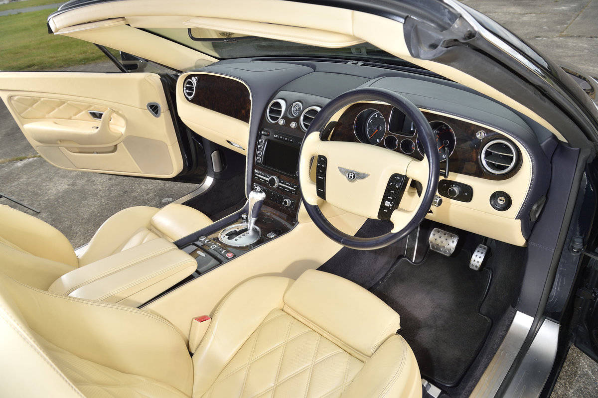 2008 Bentley GT Continental 6.0 (552bhp) 4x4 - Blue Beige For Sale (picture 5 of 6)