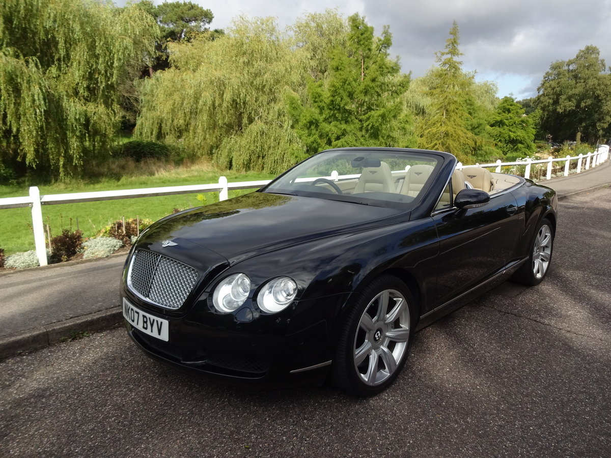 2007 Bentley Continental GTC SOLD (picture 1 of 6)