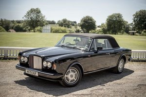 1990 Bentley Continental Convertible / Corniche