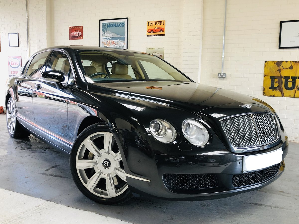 2005 05 Continental Flying Spur, Bentley Plus 1 owner, low miles SOLD (picture 1 of 6)