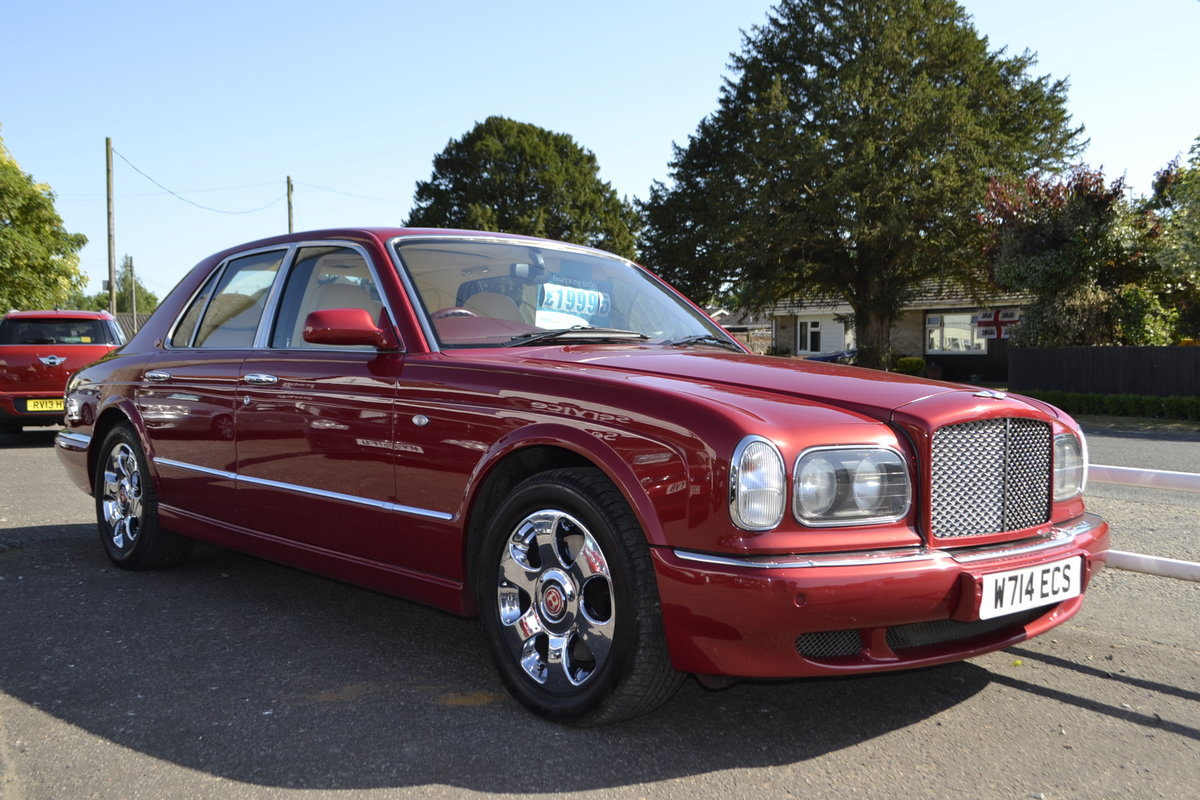 2000 Bentley Arnage Red Label For Sale (picture 1 of 11)
