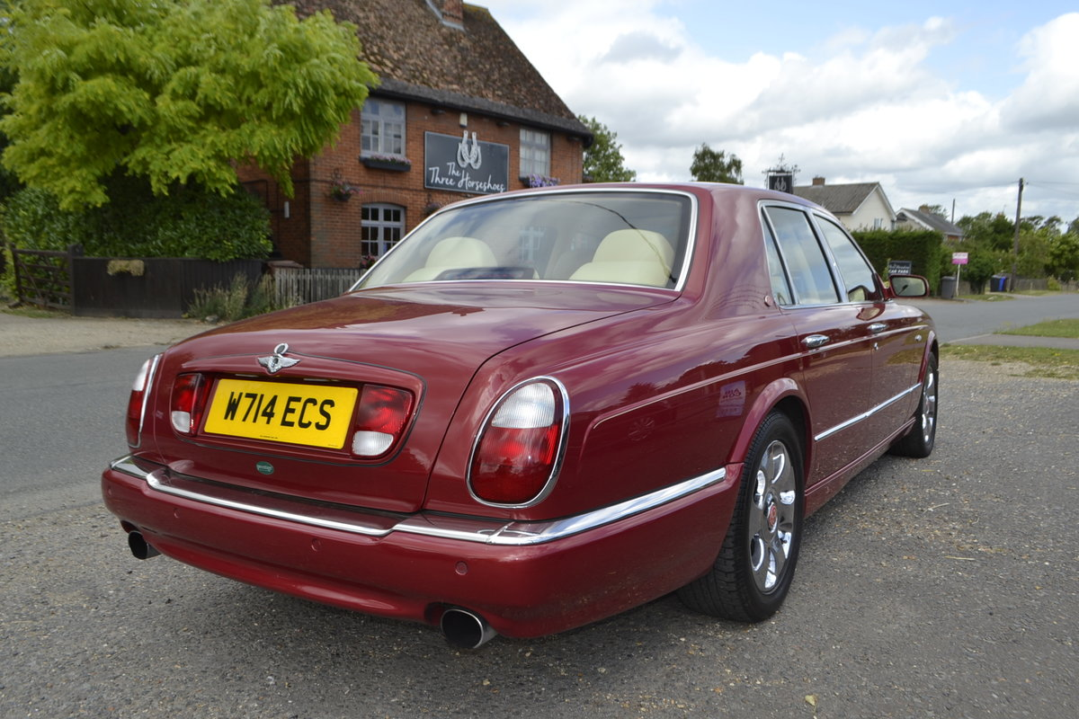 2000 Bentley Arnage Red Label For Sale (picture 3 of 11)
