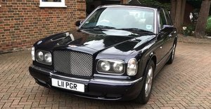 2001 BENTLEY ARNAGE 'RED LABEL' SALOON  For Sale by Auction