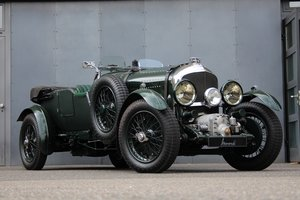 1929 Bentley 4 1/2 Litre Blower Open Tourer RHD by Graham Moss