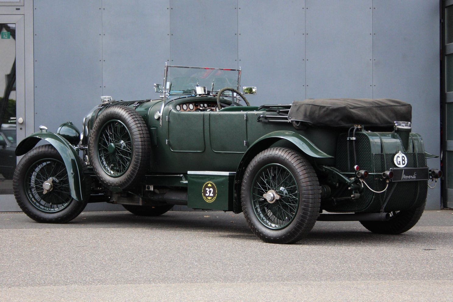 1929 Bentley 4 1/2 Litre Blower Open Tourer RHD by Graham Moss  For Sale (picture 2 of 6)