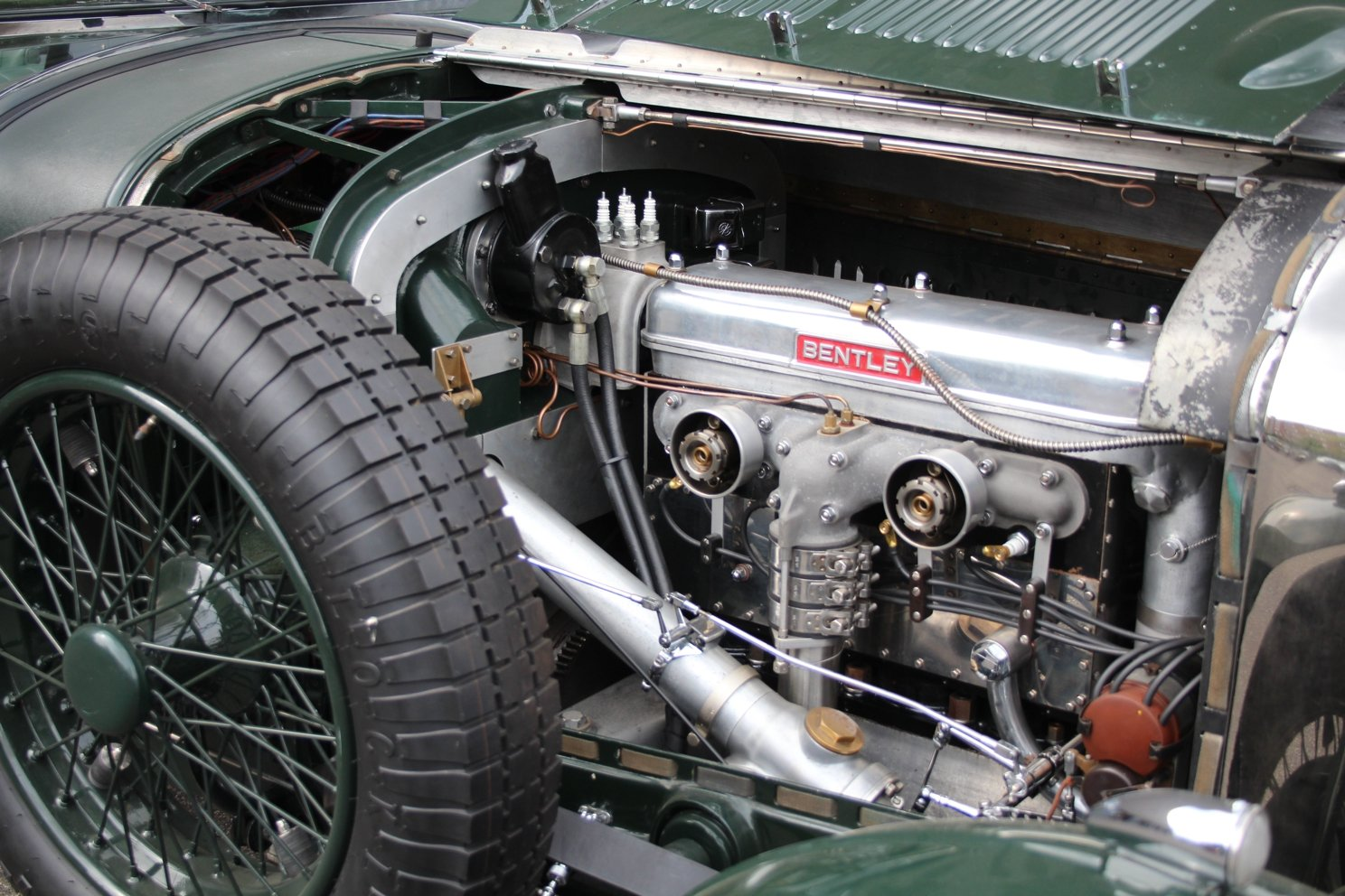 1929 Bentley 4 1/2 Litre Blower Open Tourer RHD by Graham Moss  For Sale (picture 4 of 6)