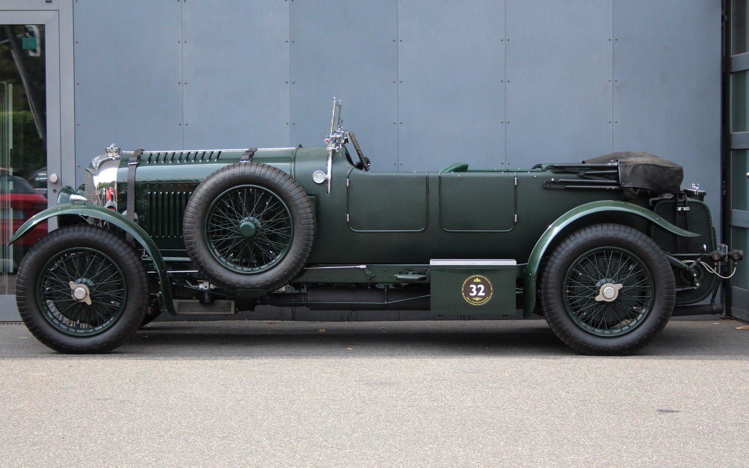 1929 Bentley 4 1/2 Litre Blower Open Tourer RHD by Graham Moss  For Sale (picture 5 of 6)