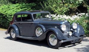 1937 Bentley 4¼ Litre Park Ward Two Door Sports Saloon B90JD For Sale