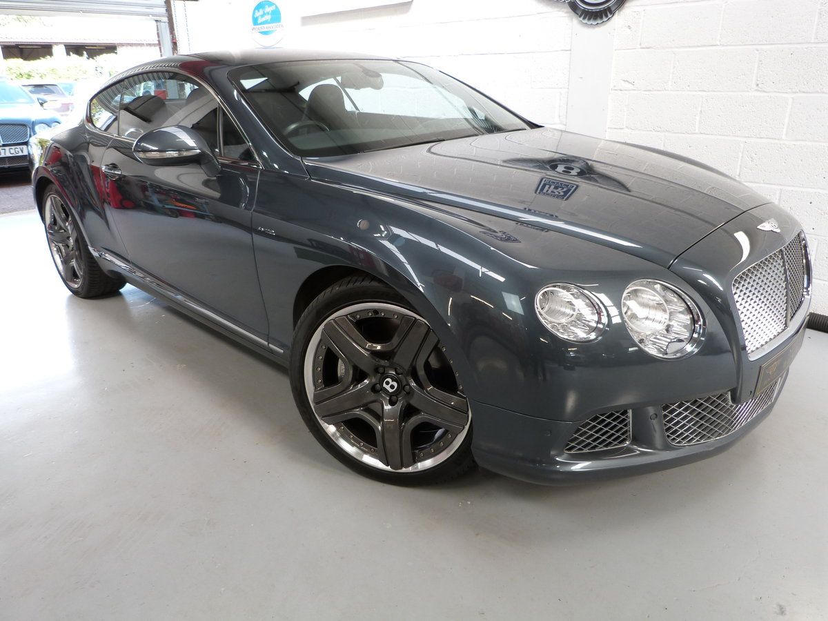 2011  Bentley Continental GT  6.0L W12 Gen2 MDS ,One Owner For Sale (picture 1 of 6)