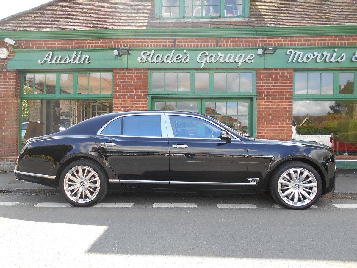 2012 Bentley Mulsanne Mulliner  SOLD (picture 1 of 6)
