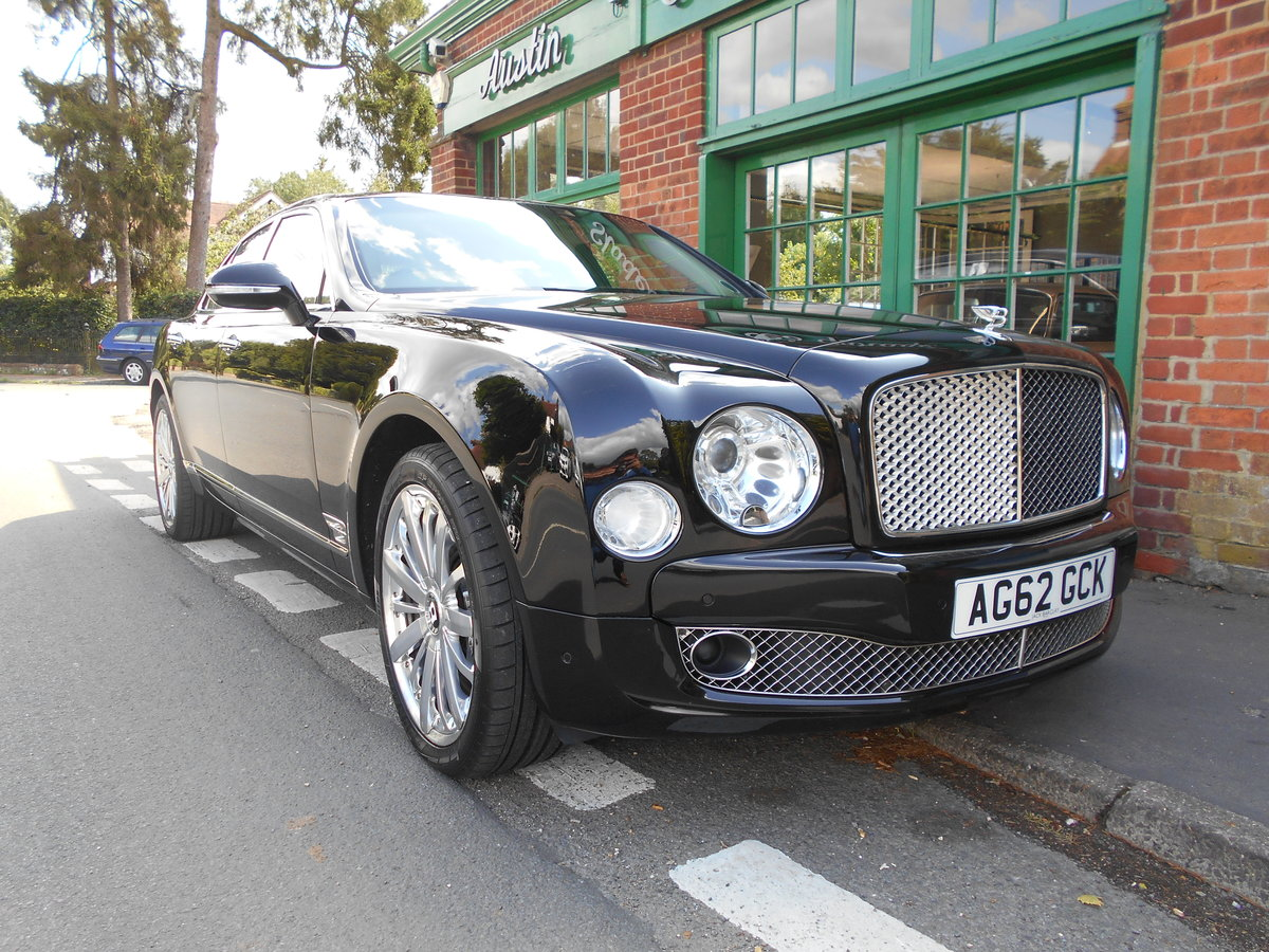 2012 Bentley Mulsanne Mulliner  SOLD (picture 2 of 6)