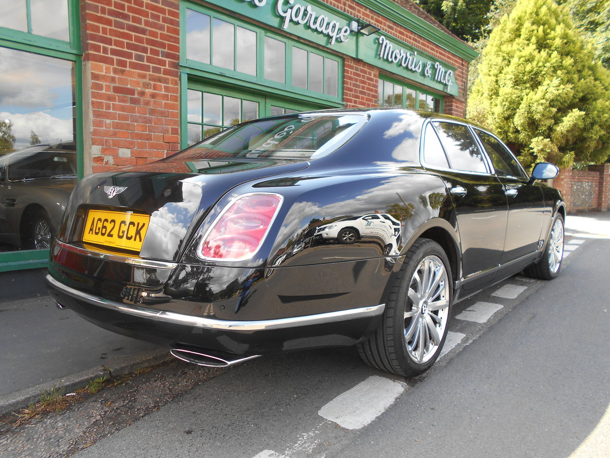 2012 Bentley Mulsanne Mulliner  SOLD (picture 3 of 6)