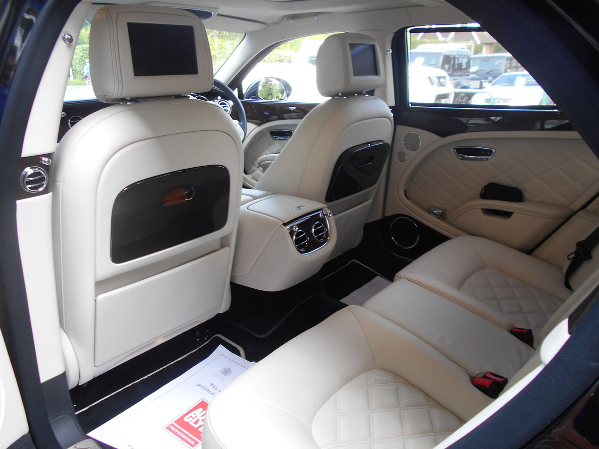 2012 Bentley Mulsanne Mulliner  SOLD (picture 4 of 6)