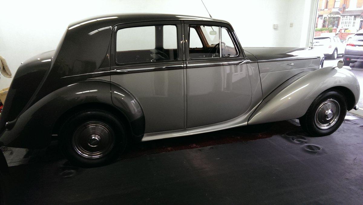 1950 Bentley Mk VI 4.25 Standard Steel saloon (B111HP). For Sale (picture 4 of 6)