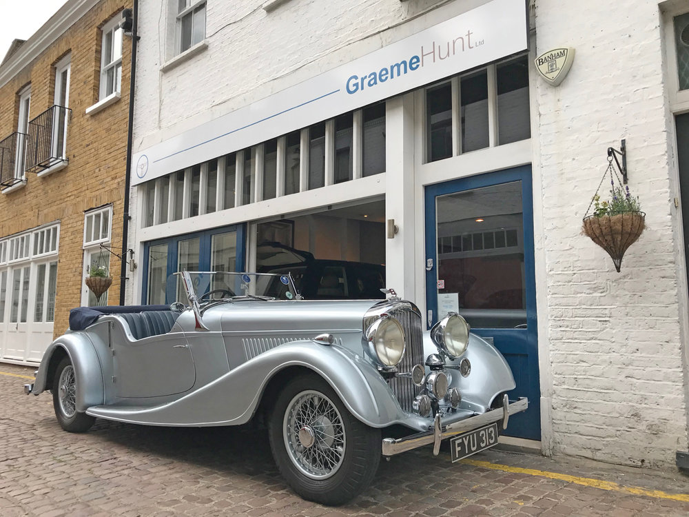 1939 Bentley 4.25 litre MX chassis series Vanden Plas style  For Sale (picture 1 of 24)