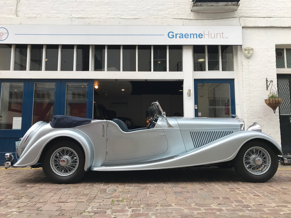 1939 Bentley 4.25 litre MX chassis series Vanden Plas style  For Sale (picture 3 of 24)