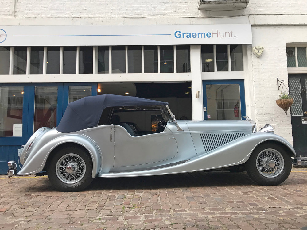 1939 Bentley 4.25 litre MX chassis series Vanden Plas style  For Sale (picture 4 of 24)