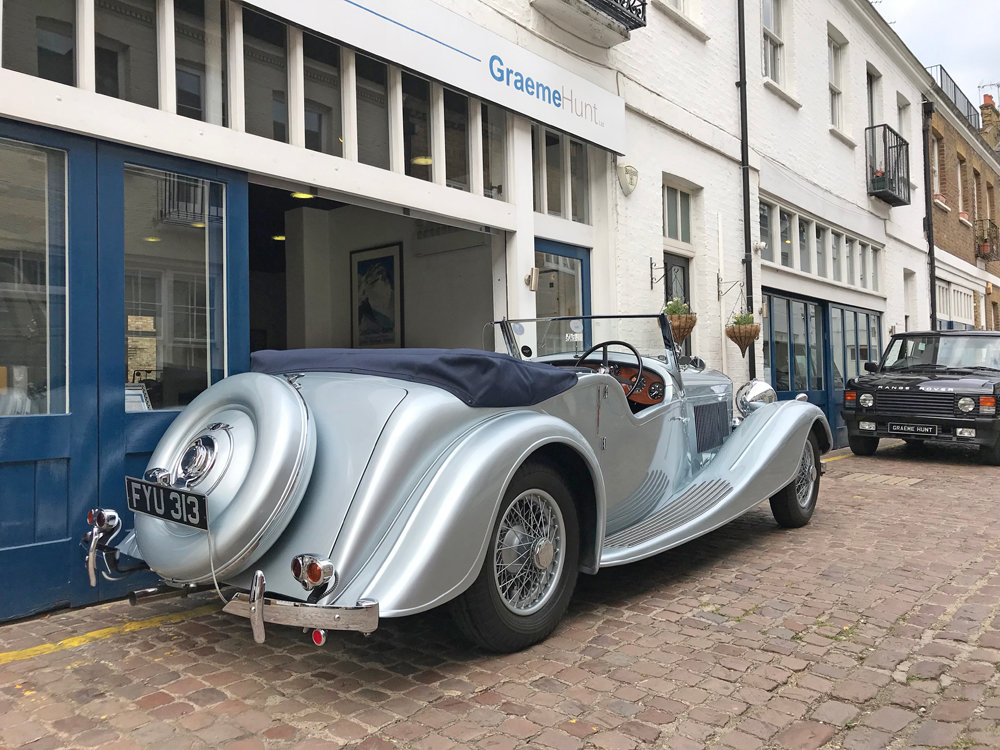 1939 Bentley 4.25 litre MX chassis series Vanden Plas style  For Sale (picture 6 of 24)