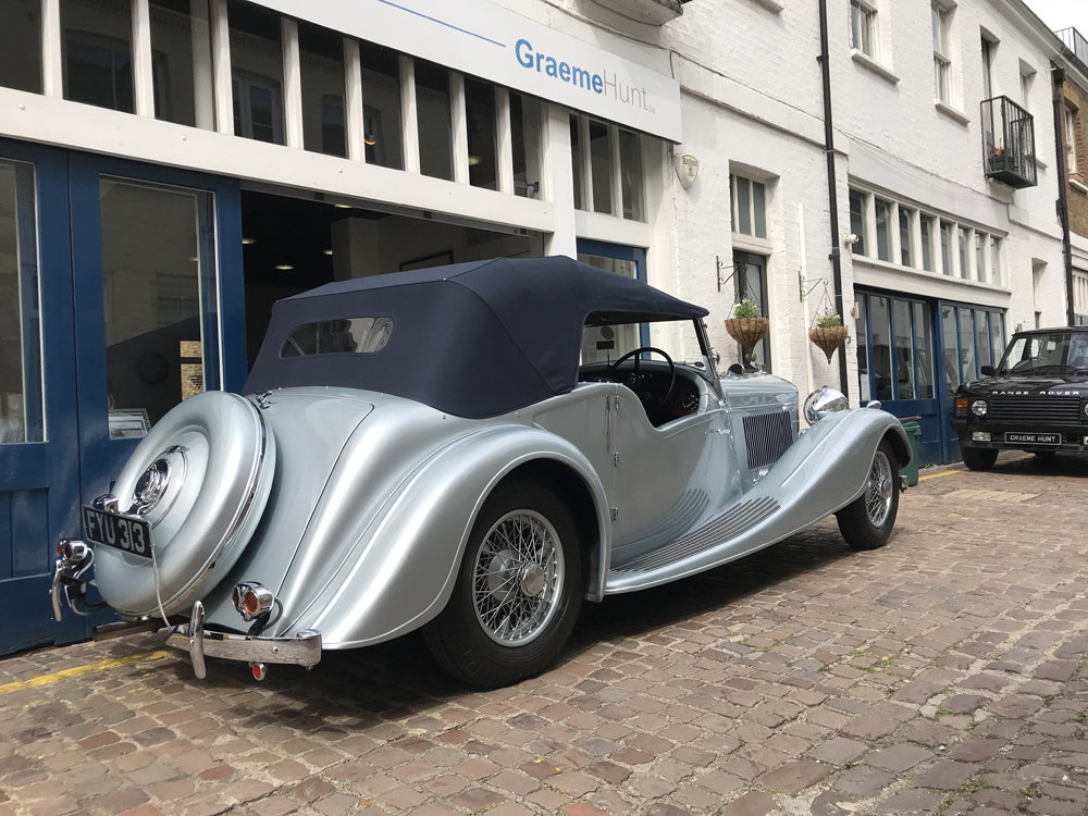 1939 Bentley 4.25 litre MX chassis series Vanden Plas style  For Sale (picture 7 of 24)