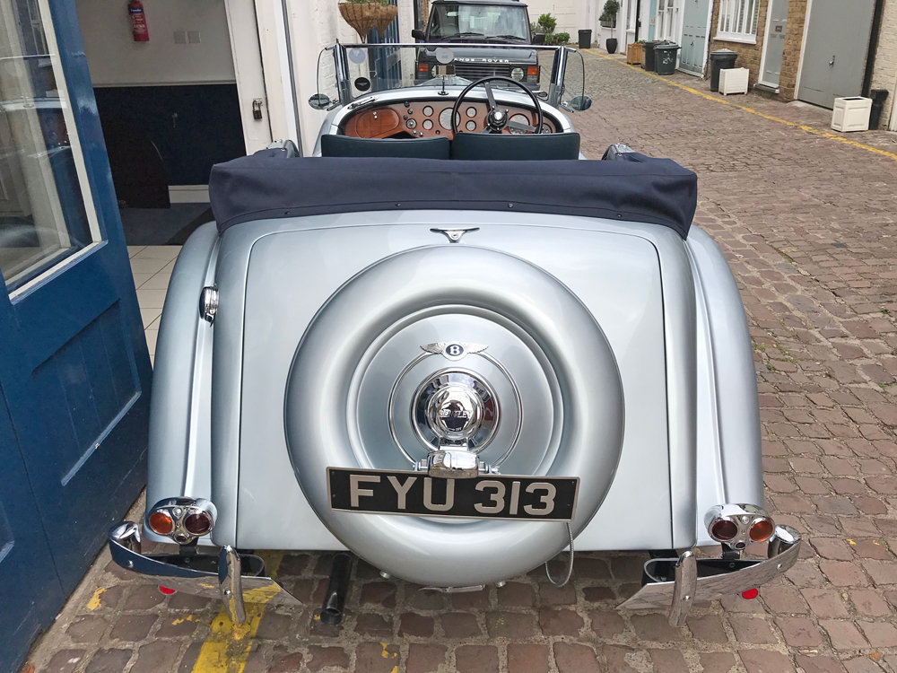 1939 Bentley 4.25 litre MX chassis series Vanden Plas style  For Sale (picture 9 of 24)