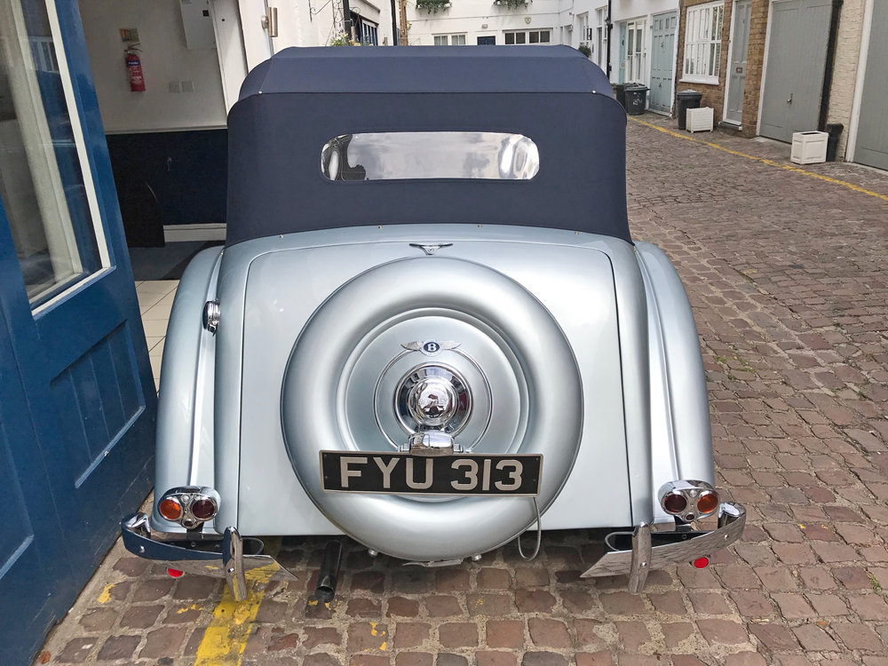 1939 Bentley 4.25 litre MX chassis series Vanden Plas style  For Sale (picture 10 of 24)